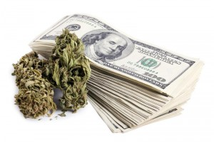 Marijuana and Cash