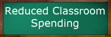 green-blackboard-reduced classroom spending